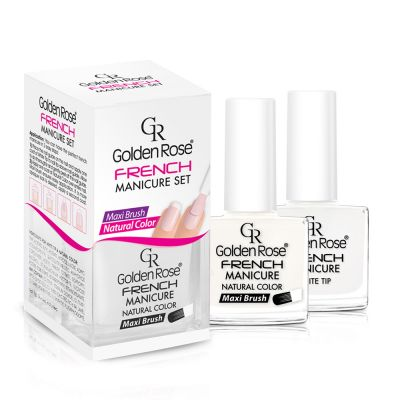 Golden Rose - French Manicure Set - 2li French Oje Seti