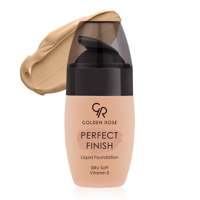 Golden Rose - Perfect Finish Liquid Foundation - Mükemmel Bitişli Likit Fondöten
