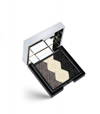 Golden Rose - Trio Eyeshadow Wet and Dry - Islak Kuru Kulanımlı 3lü Far Paleti