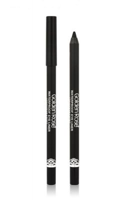 Golden Rose - Waterproof Eyeliner Longwear and Soft Ultra Black - Yumuşak Sürümlü Göz Kalemi