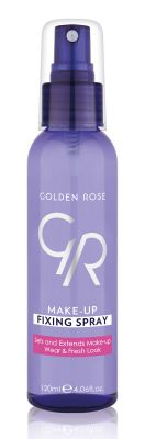 Golden Rose - MAKE-UP FIXING SPRAY(MAKYAJ SABİTLEYİCİ SPREY)