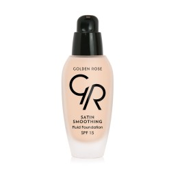 Satin Smoothing Fluid Foundation - Fondöten - SPF15 - Thumbnail