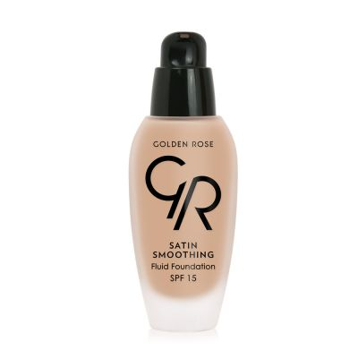 Satin Smoothing Fluid Foundation - Fondöten - SPF15
