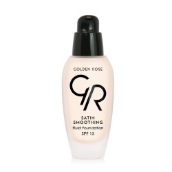 Golden Rose - Satin Smoothing Fluid Foundation - Fondöten - SPF15