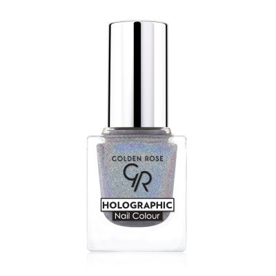 GR Holographic Nail Colour - Golden Rose Oje - Outlet