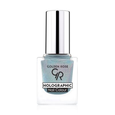 GR Holographic Nail Colour - Golden Rose Oje