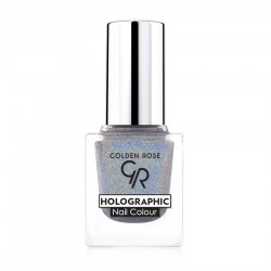 GR Holographic Nail Colour - Golden Rose Oje - Thumbnail