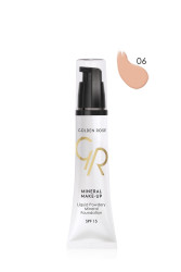 Liquid Powdery Mineral Foundation - Mineral Likit Fondöten - SPF 15 - Thumbnail