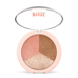 - GR Nude Look Baked Trio Face Powder