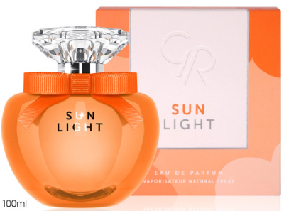 Golden Rose Parfüm Sun Light - 100ML