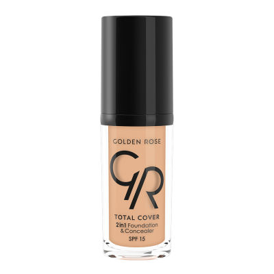 GR Total Cover 2in1 Foundation&Concealer - 2'si 1 Arada Fondöten Ve Kapatıcı