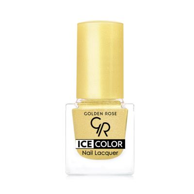 Ice Color Nail Lacquer - Golden Rose Oje - Outlet