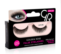 Golden Rose - False Eyelashes - Takma Kirpik