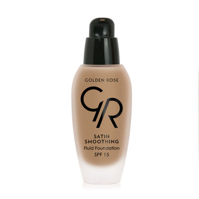 Satin Smoothing Fluid Foundation - Fondöten - SPF15 - Süper Fiyat